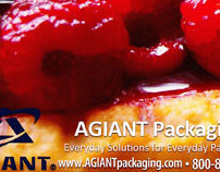 AGIANT Packaging Half Page Postcard - Bakery Flier