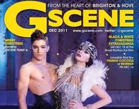 GScene Covers - February and December 2011