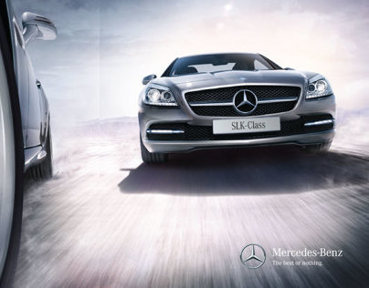 SLK-Class. To see is to want, to know is to love.