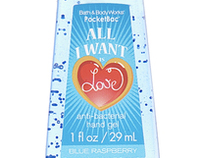 Bath & Body Works Holiday Hand Sanitizer
