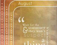Summer Calendar