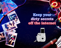 Fuji Film Instax 7 Mini Campaign