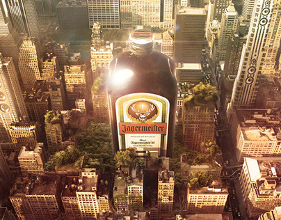 Jägermeister City Wallpaper