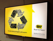 Best Buy E-Cycle Billboard