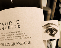 LEFAURIE - Saint-Emilion Grand cru wine label design