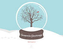 rtraction Holiday eCard