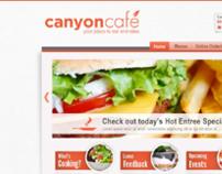 Canyon Cafe Website
