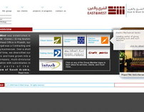 East & West Group of Companies Website