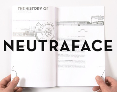 Neutraface font sample