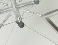 Tensegrity table V-star