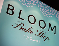 Bloom Bake Shop Branding