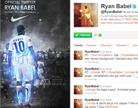 Ryan Babel Twitter background