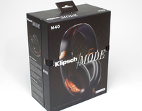 Klipsch Mode M40 Headphones™ Box Art
