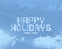 Happy Holidays 2011-2012 Wallpaper