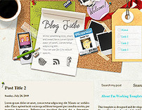 Im Working - Blogger Template