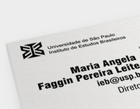 Cartão de visitas - IEB | Institutional business card
