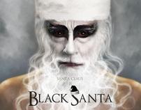 Black Santa : Poster Black Swan Parody