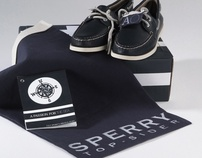Sperry Authentic Original Packaging Design