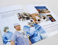 Physician Recruitment brochure
