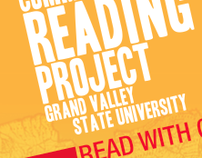 Community Reading Project promotional materials