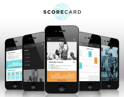 ScoreCard iPhone App