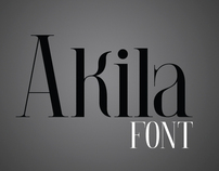 AKILA font