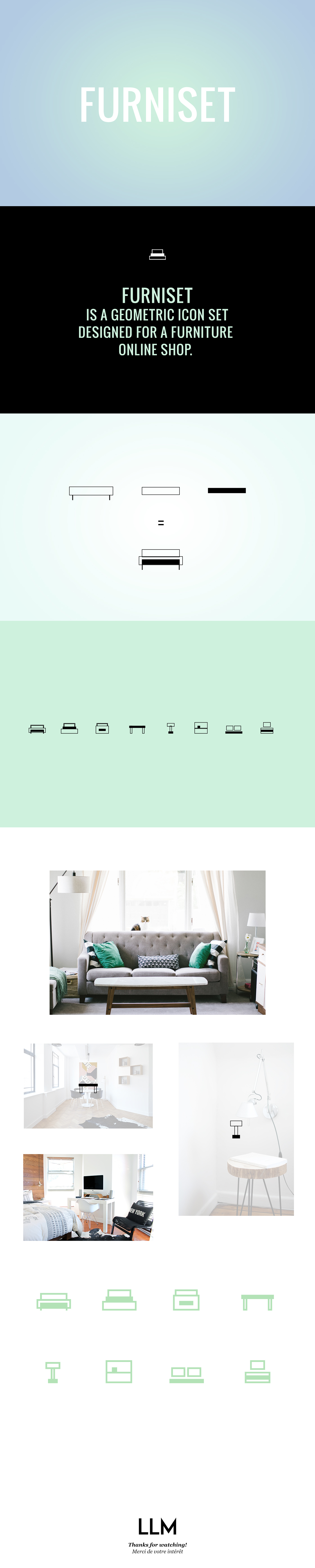 Furniset   Icons for furniture shop ecommerce