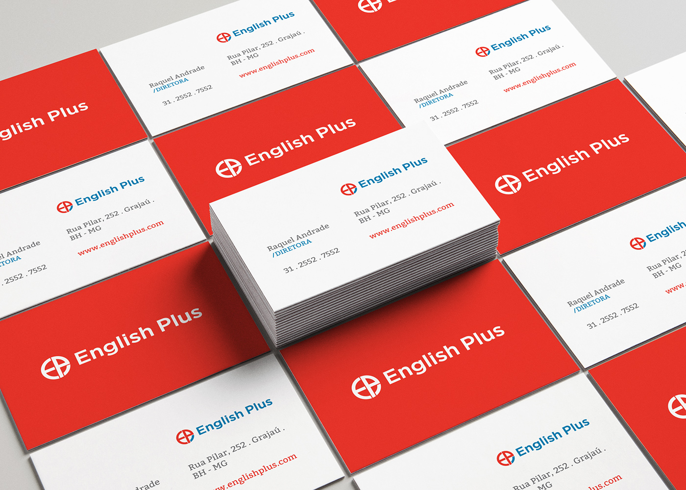 English Plus . Logo Redesign