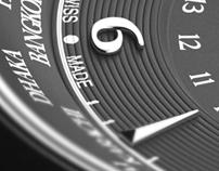 3D David Yurman Classic GMT Time Piece - Advertising
