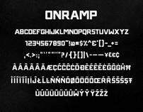 ONRAMP TYPEFACE