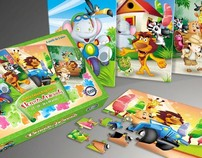 Illustration and packaging for toys