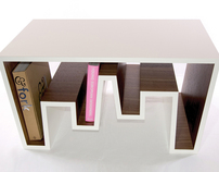 Cityscape - Coffee table