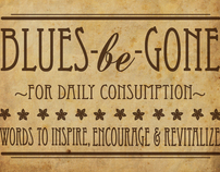 Blues-be-Gone - Inspiration Jar