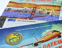 San Francisco Airport Poster