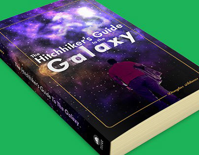 The Hitchhiker's Guide to the Galaxy Cover Design