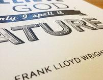 Frank Lloyd Wright print