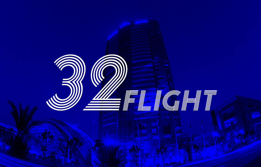 M I M S . Flight 32 . Party Flyer
