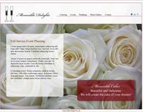 Memorable Delights Web Layout