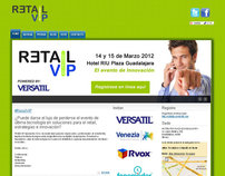 Retail VIP 2012 Website
