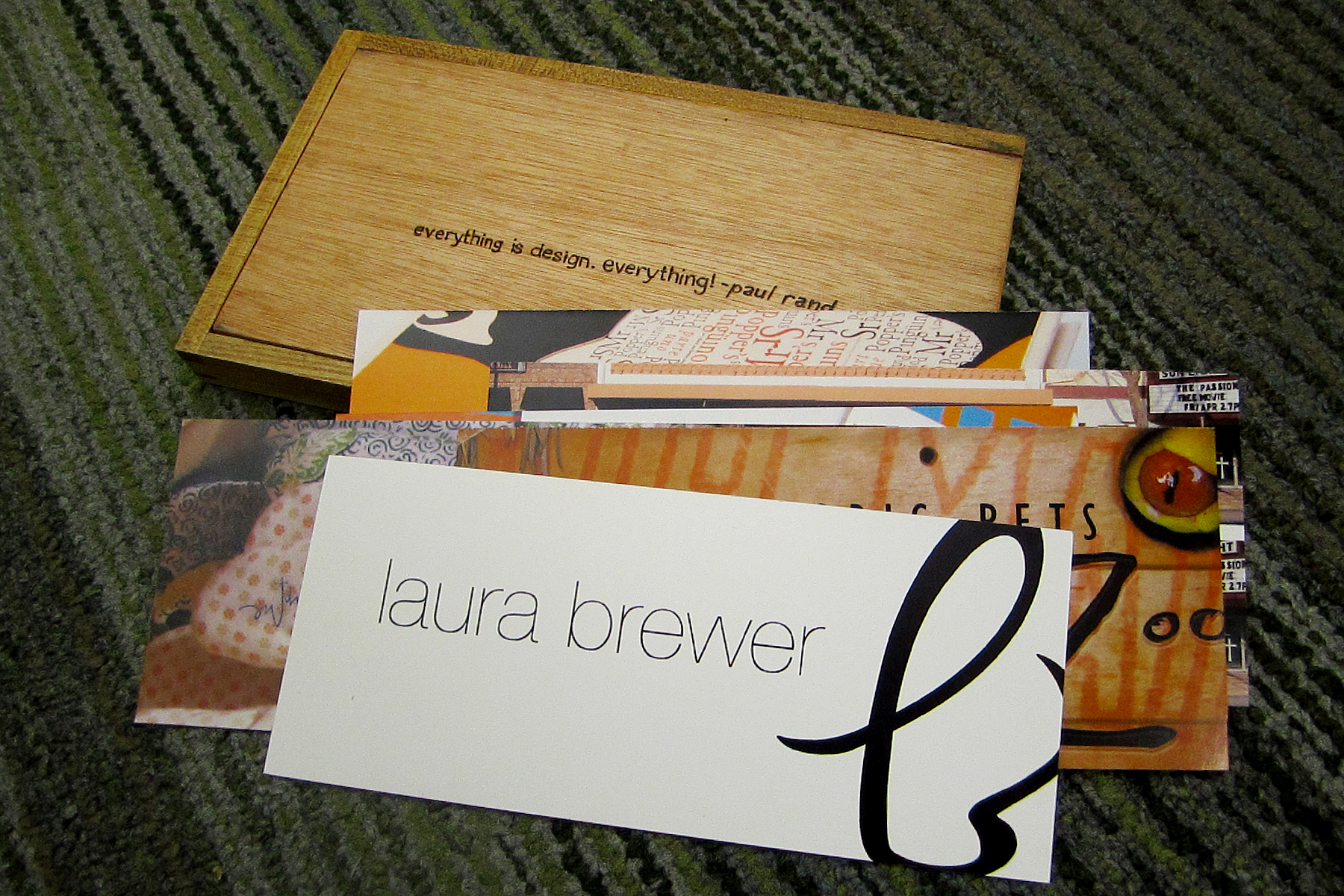 Laura Brewer Design : Leave Behind
