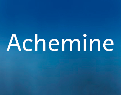 Achemine (creation, signage)