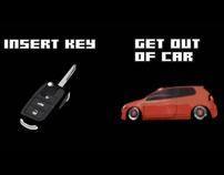 Volkswagen GTi // interactive video