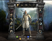 The Lord of the Rings - War in the North Game UI