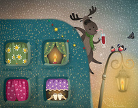 New Year «In the Hood» / Interactive Animation