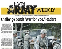 Redesign of Hawaii Army Weekly