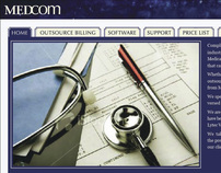 MedCom Website Design