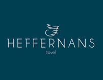 Heffernans Travel Rebrand