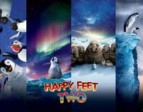 Happy Feet Two: Lighting Concept Art