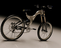 DH freeride bike-concept