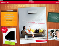 Hitachi Catalogue iPad App (Concept)